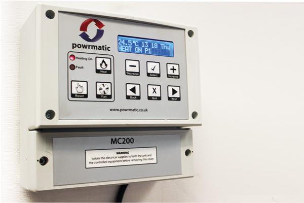 Heater Less Standard Controls