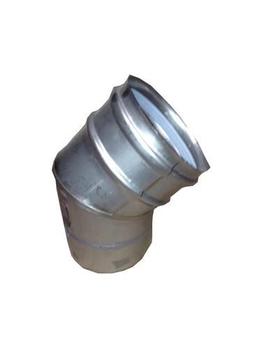 NVx 15-25 Flue Single wall 45° elbow