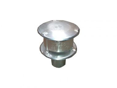 NVx 15-25 Flue Single wall vertical gas terminal