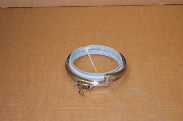 "System 1 Single wall flue locking band 200mm / 8"""