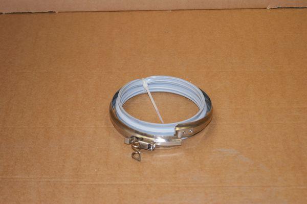 "System 1 Single wall flue locking band 250mm / 10"""