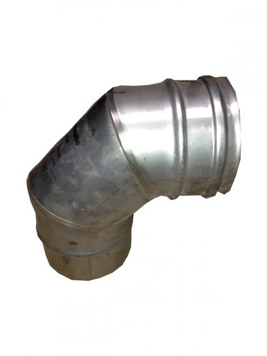 "System 1 Single wall flue 90° elbow 100mm / 4"""