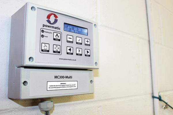 MC300 Slave Unit (Per heater) (Note 1)